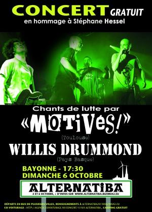 Alternatiba concert Fr