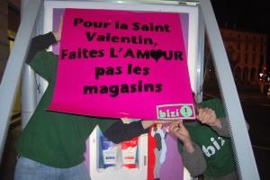 Pour la saint valentin, faites l'amour pas les magasins