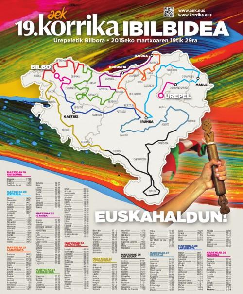 Korrika2015-Ibilbidea