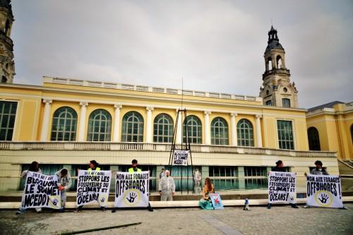 Action ANV-COP21 +á Pau