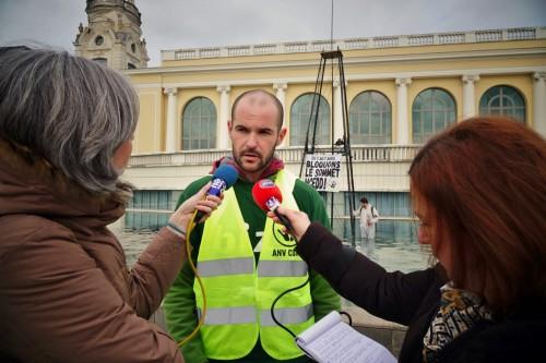 Pierre Goinvic, porte-parole d'ANV-COP21