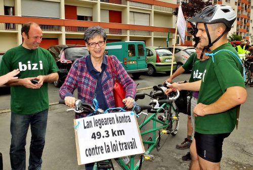Sylviane Alaux rencontre Bizi