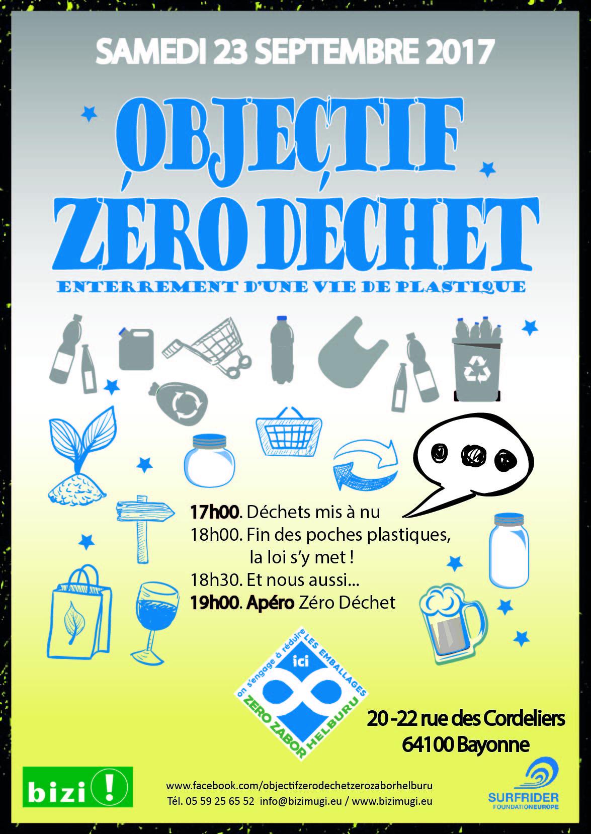 Affiche Objectif Zero Dechet FR