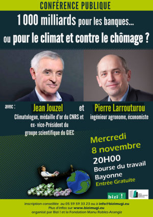 Affiche présentant la conférence